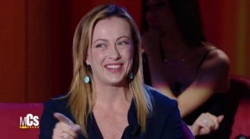 Giorgia Meloni al MCS