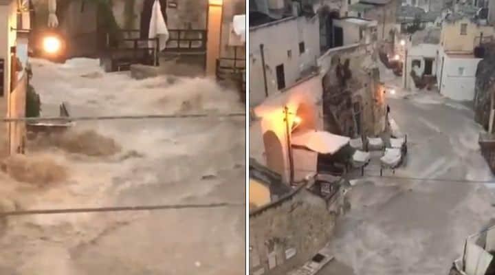 Alluvione a Matera
