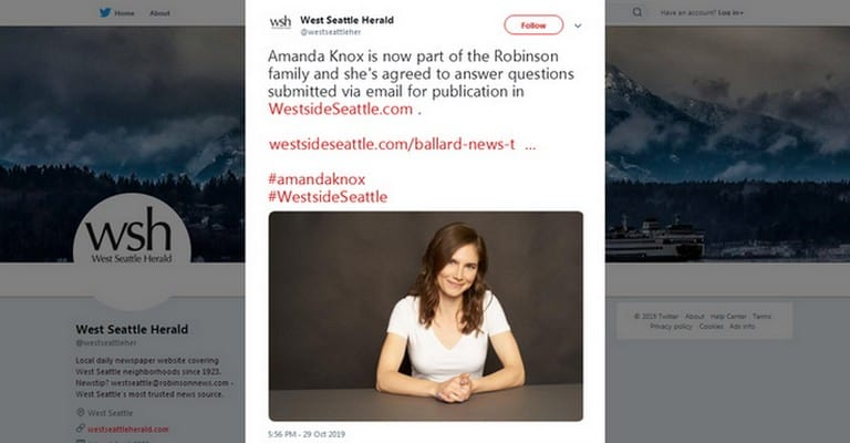 Amanda Knox, Westside Seattle