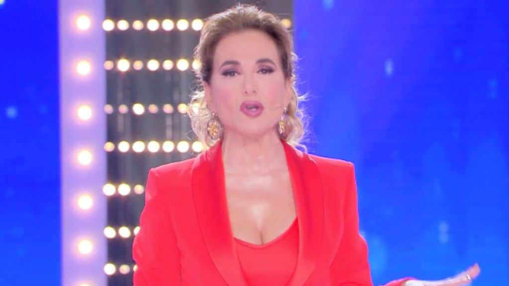 barbara d'urso in primo piano