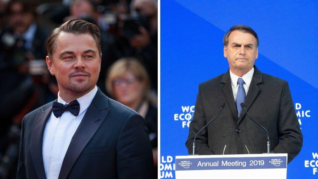 Il presidente brasiliano Bolsonaro e suo figlio hanno pubblicamente accusato Leonardo Di Caprio di aver finanziato i roghi in Amazzonia. La replica di DiCaprio