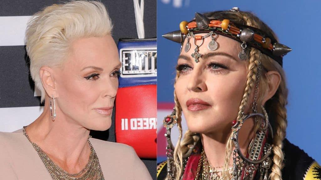 Brigitte Nielsen contro Madonna: prima lo schiaffo, poi la notte con Penn