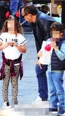 Carlo Conti e la figlia di Fabrizio Frizzi
