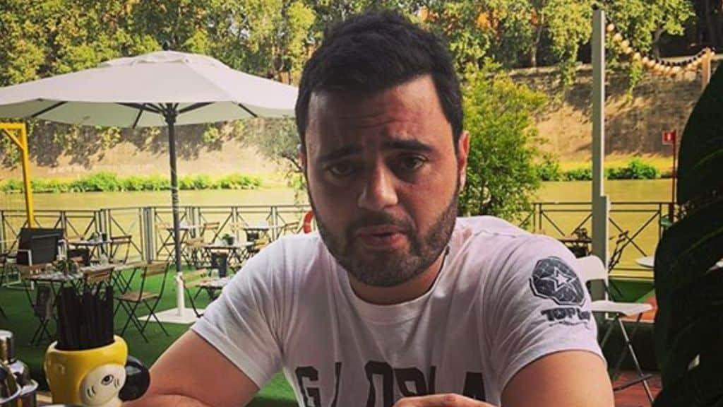 Federico Vespa su Instagram
