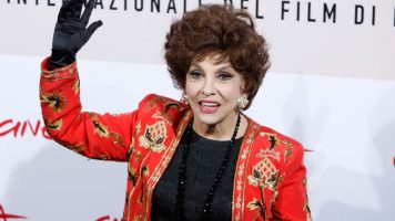 gina lollobrigida sul red carpet