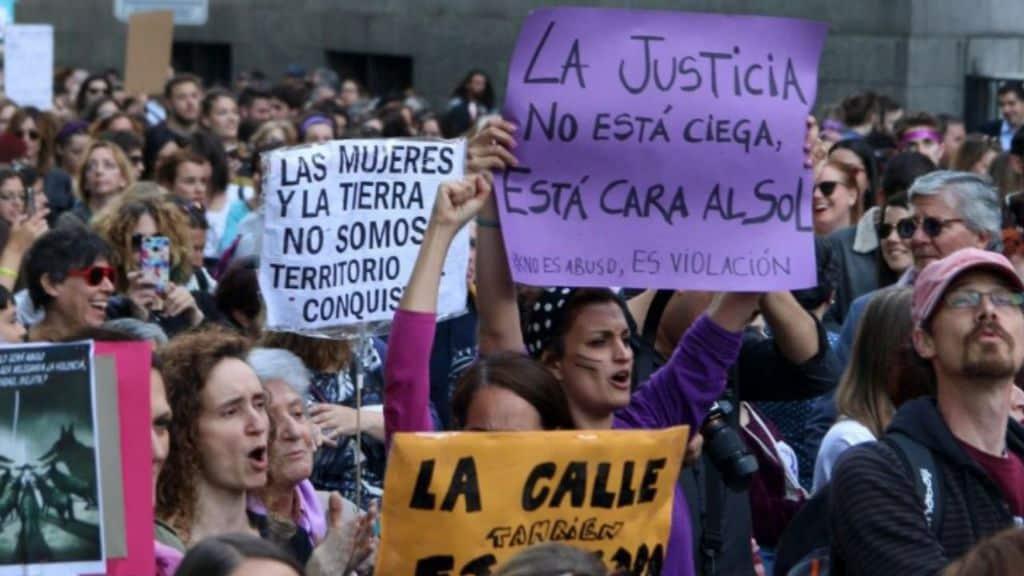 madrid protesta