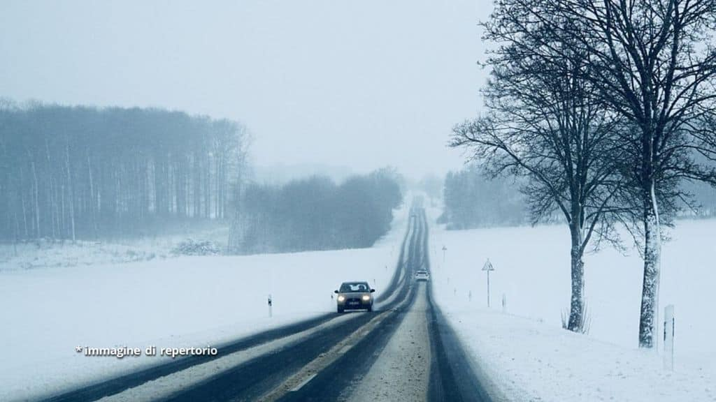 forte nevicata