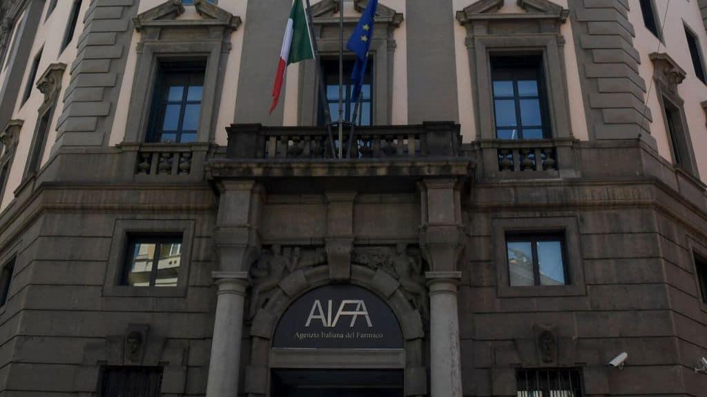 ingresso del palazzo dell'AIFA