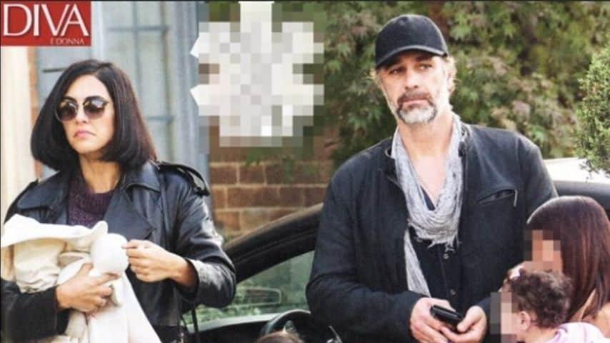 Raoul Bova e Rocio Morales sul settimanale Diva e Donna