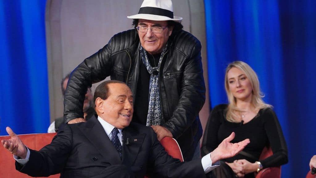 Silvio Berlusconi e Al Bano