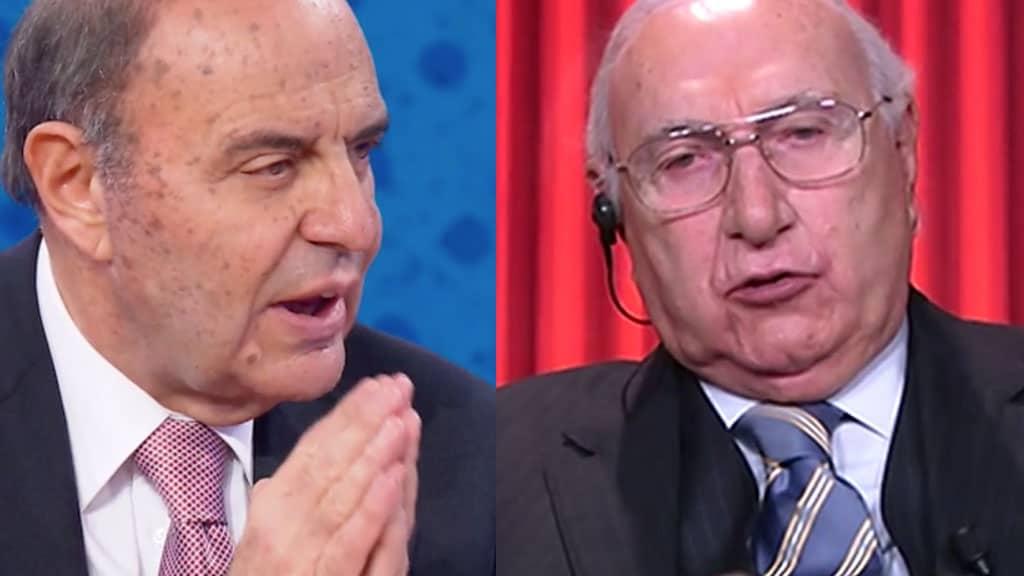 Bruno Vespa e Pippo Baudo