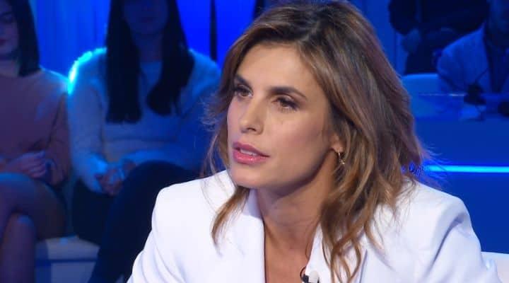 Elisabetta Canalis a Domenica In
