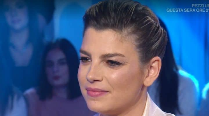 Emma Marrone a Domenica In