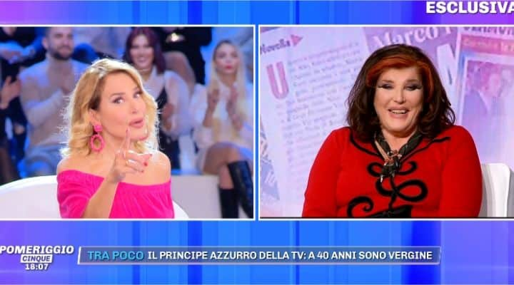 Barbara D'Urso si infuria con Patrizia De Blanck