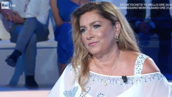 Primo piano di Romina Power