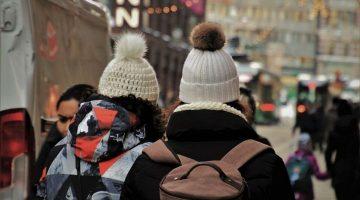 Persone coperte per il freddo