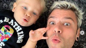 Fedez e il figlio Leone