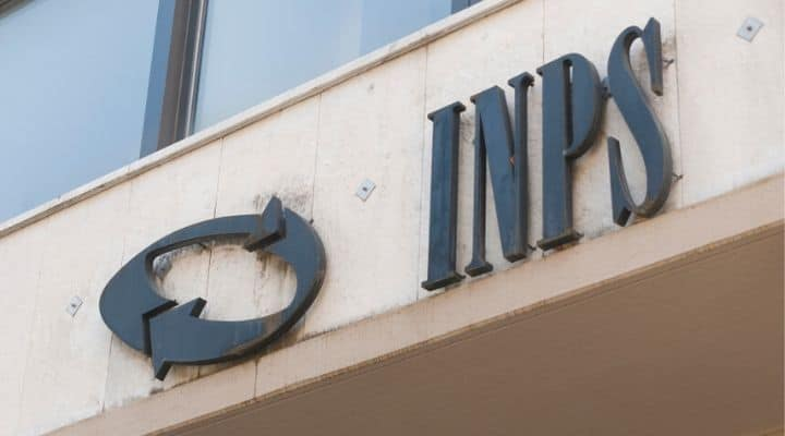 Scritta INPS