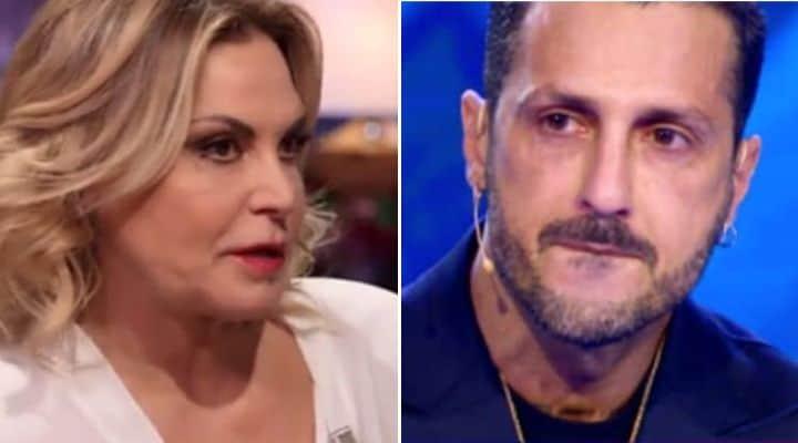 Simona Ventura e Fabrizio Corona