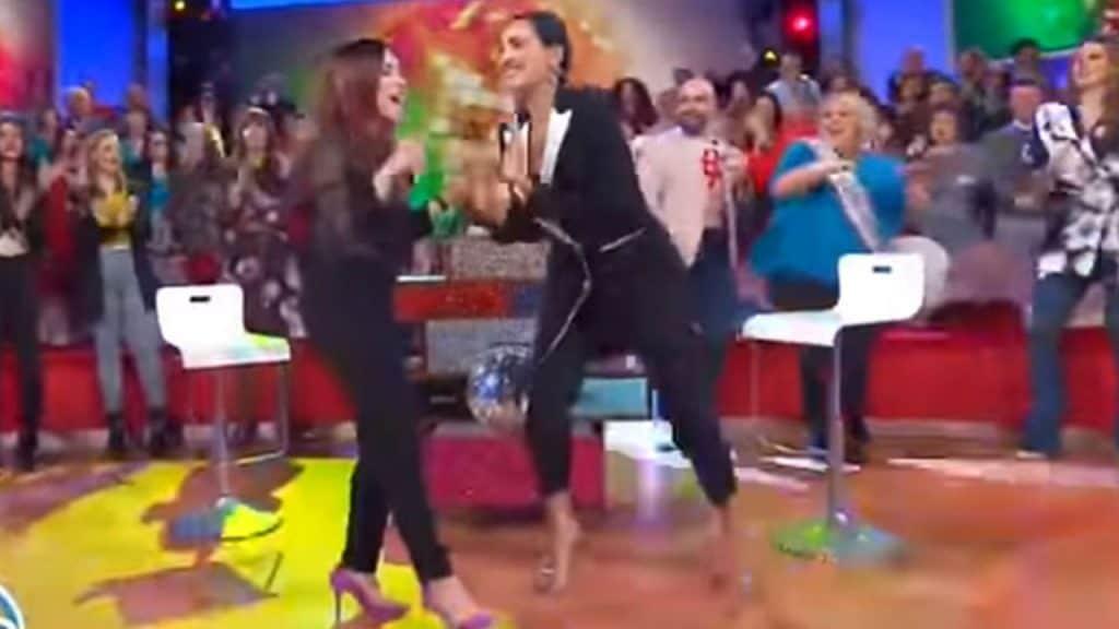 Caterina Balivo balla con Alexia, ma si verifica un incident