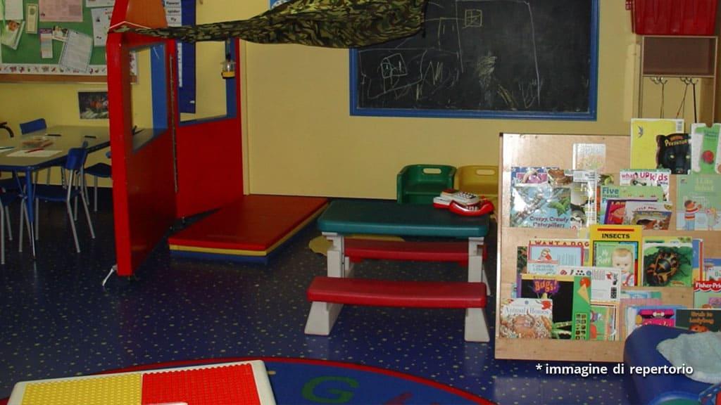 giochi in un asilo