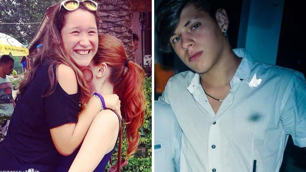 Due 16enni, Marika De Cata e Nicolò Balbiano, sono scomparsi da Alessandria 4 giorni fa. Erano insieme ad un'amica più grande, poi si son perse le tracce (Foto Facebook)