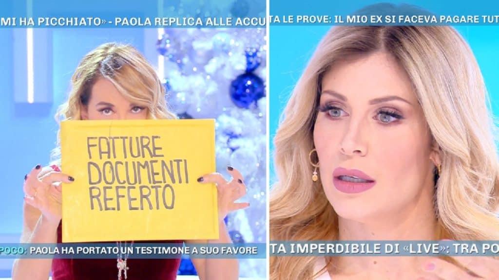 """Paola Caruso denuncia Moreno Merlo: """"Mi registrava"""" e tira fuori le prove"""