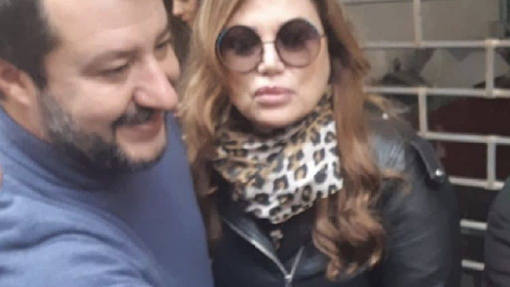 Serena Grandi sogna la Lega: appello a Matteo Salvini