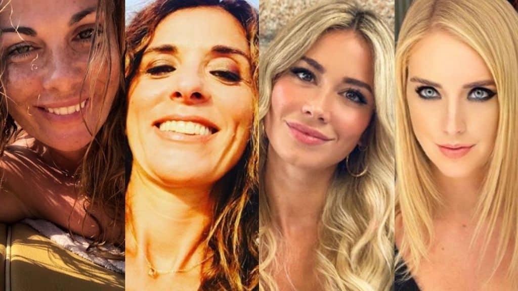 Vanessa Incontrada, Emma D'Aquino, Diletta Leotta e Chiara Ferragni