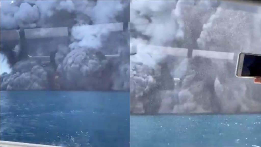 Nuova Zelanda, erutta un vulcano Turisti dispersi, almeno un morto