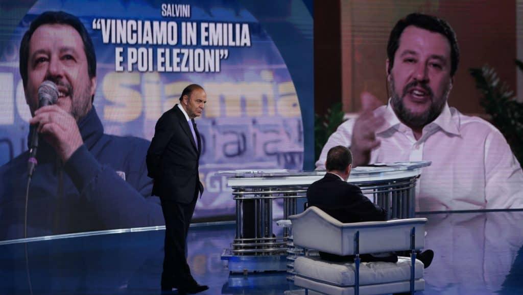 Spot di Salvini durante Juve Roma e scoppia la polemica: la