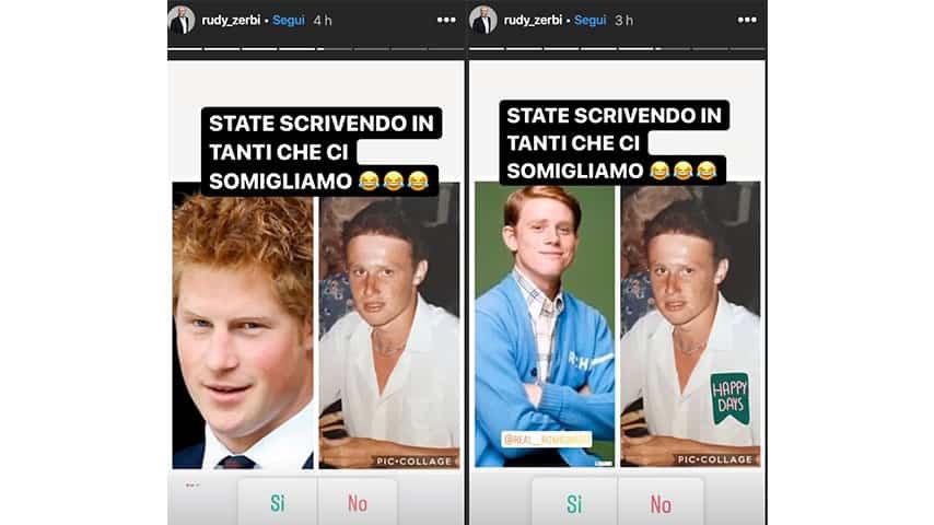 Instagram Stories di Rudy Zerbi