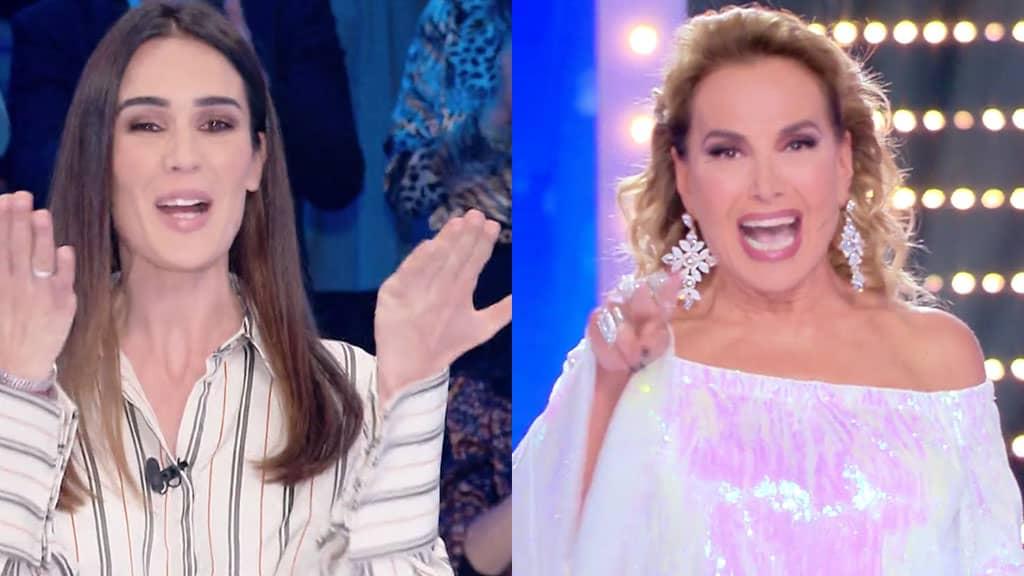 Silvia Toffanin e Barbara d'Urso