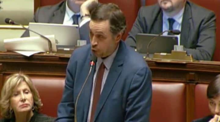 Il deputato PD Filippo Sensi