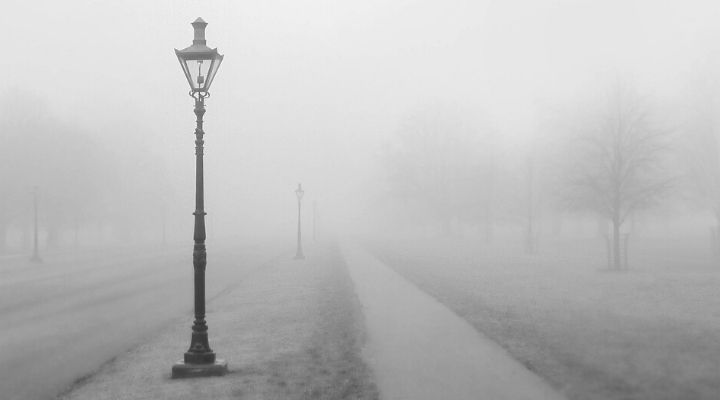 Nebbia fitta