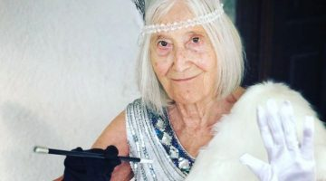Licia Fertz, nonna social su Instagram