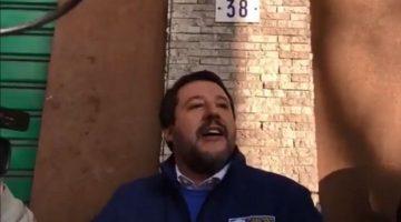 Matteo Salvini a Modena