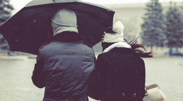 Pioggia, freddo e neve