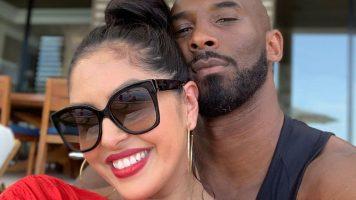 Primo piano di Vanessa Laine e Kobe Bryant