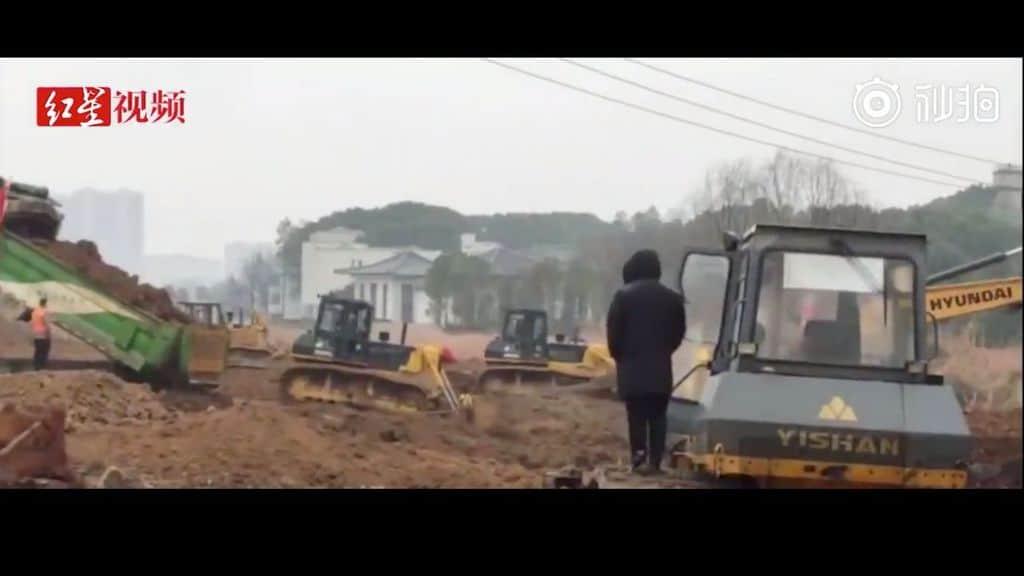 costruzione di un ospedale
