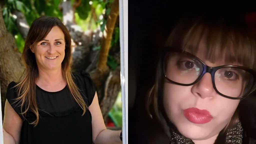 Elisa Rondina e Sonia Farris