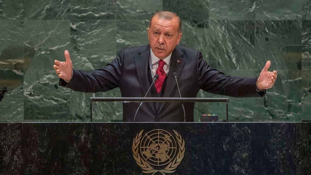 Il Presidente turco Erdogan
