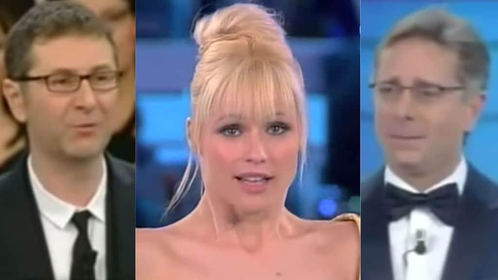 Fabio Fazio, Michelle Hunziker e Paolo Bonolis
