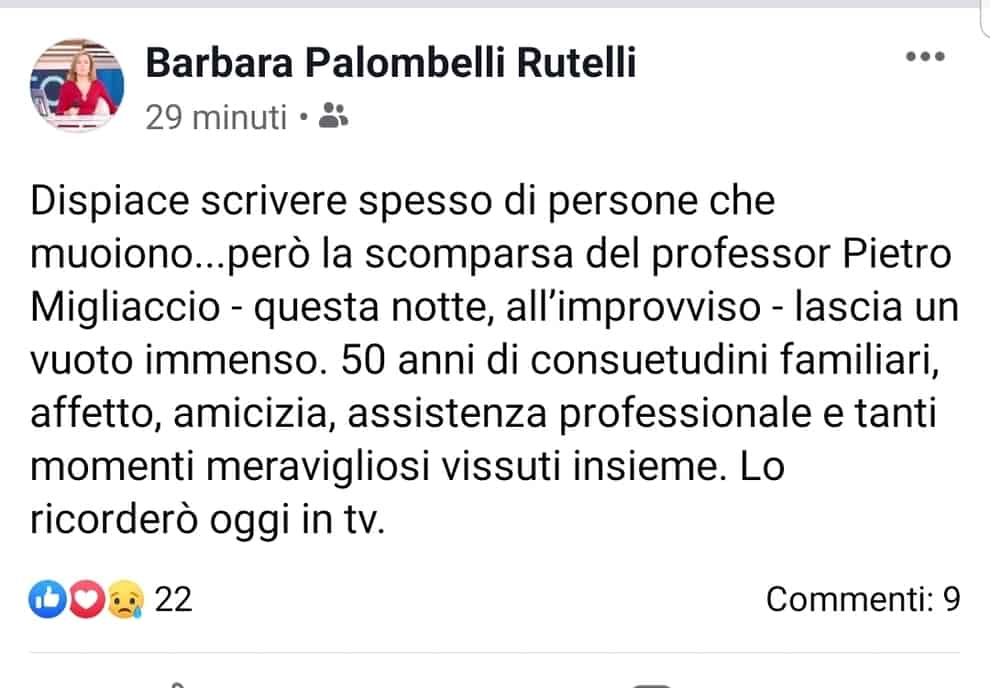 Post di Barbara Palombelli