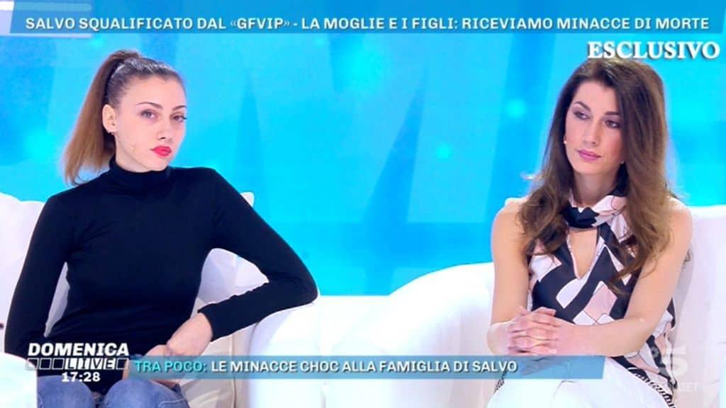 La figlia di Salvo Veneziano piange: