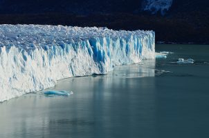 ghiacciaio che si ritira