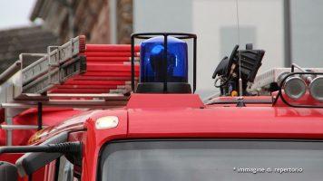 sirena di un mezzo dei vigili fuoco
