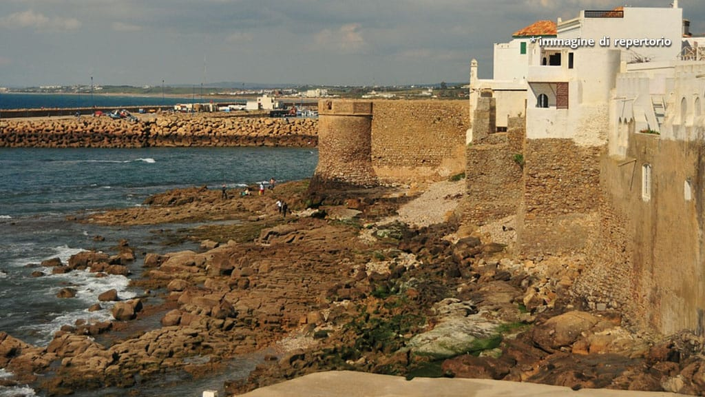 spiaggia e mare in Marocco