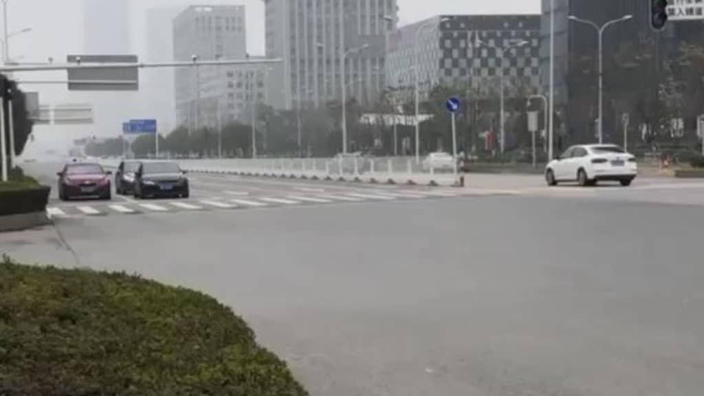 strada di Wuhan
