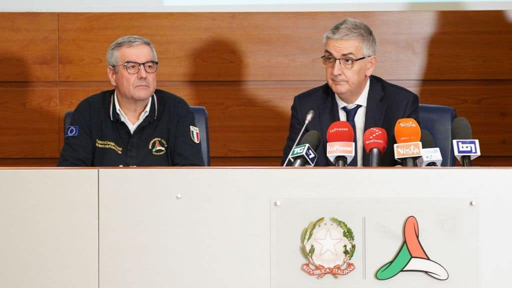 Borrelli e Brusaferro in conferenza stampa